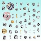 New Space Silver charms Bead Fit European Sterling 925 Silver Bracelet Chain US1