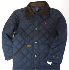 Polo RALPH LAUREN Boys Size 10-12 Jacket Kids Medium Quilted Barn Coat NWT NEW