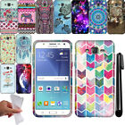 For Samsung Galaxy J7 J700 TPU SILICONE Rubber SKIN Soft Case Phone Cover + Pen