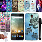 For ZTE Prestige N9132 Avid Plus Z828 TPU SILICONE Rubber Soft Case Cover + Pen