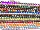 "Wholesale Lots Freshwater Pearl Loose Beads For Jewelry Making Gemstone 15"" DIY"