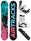 SNOWBOARD SET AIRTRACKS POLYGONAL+SAVAGE W+STRONG BOOTS+BAG+PAD/138 144 148 154/