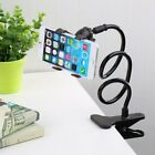 Flexible Bed Desktop Car Long Arm Holder Clamp Clip Mount Stand For iPhone GPS #