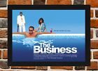 Framed The Business Movie Poster A4 / A3 Size Mounted In Black / White Frame