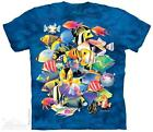 "FISH ""TROPICAL JAM"" ADULT T-SHIRT THE MOUNTAIN"