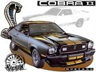 Ford Mustang Cobra II Tshirt #7063 cobra 2 automotive car art