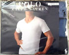Polo Ralph Lauren Classic Fit 3 Pack Cotton V Neck T-Shirt Multi Colors and size