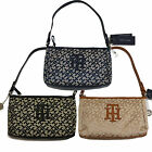 Tommy Hilfiger Handbag Womens Purse Jacquard Shoulder Bag Logo New V286