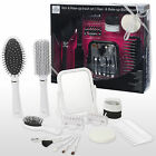 23 Piece Hair & Make Up Set Kit Mirror Brushes Cosmetic Beauty Gift Boxed NEW
