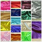 Discount Fabric Satin 64 inches wide Choose your Color By the Yard
