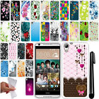 For HTC Desire 626 626S NEW TPU SILICONE Rubber SKIN Soft Case Phone Cover + Pen
