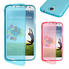 New Flip Wallet Silicone Case Cover For Samsung Galaxy S4 i9500 Screen Protector