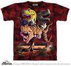 """DINOSAUR """"REX COLLAGE"""" ADULT T-SHIRT THE MOUNTAIN"""