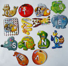 1 Letters Magnet Gervais Animals Vegetables from France