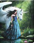 Anne Stokes Enchanted Pool Canvas Print
