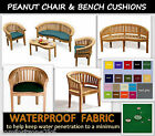 WATERPROOF PEANUT CHAIR & BENCH CUSHIONS BANANA MOON LOVE SEAT GARDEN FURNITURE
