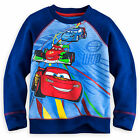 Disney Store Cars Racing Long Sleeve Sweatshirt Shirt Boy Size 5/6