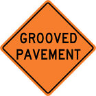 3M Reflective GROOVED PAYMENT Street Road Construction Sign - 30 x 30