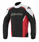 Alpinestars Gunner Mens Waterproof Jacket Black/White/Red