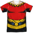 Flash Gordon Costume Allover Sublimation Licensed Adult T Shirt