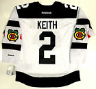 DUNCAN KEITH CHICAGO BLACKHAWKS 2016 STADIUM SERIES REEBOK NHL PREMIER JERSEY