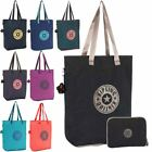 Kipling Hip Hurray 5 Folding / Fold Away Reusable Shopping Bag / Tote