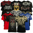 Mens Tapout MMA UFC T-Shirt Cage Fight Tee Top Designer Graffiti Clothing