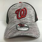 Washington Nationals Cap New Era 39Thirty Clubhouse Neo Mesh Hat Throwback