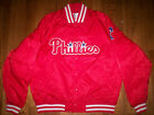 PHILADELPHIA PHILLIES NEW MLB MAJESTIC SATIN JACKET on Ebay