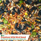 Elixir Wild Bird Food | High Energy, Low Mess Bird Seed Mix | 20kg Bulk Bags