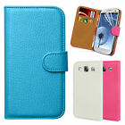 Real Leather Wallet Flip Case Cover For SAMSUNG Galaxy S3 i9300 Screen Protector