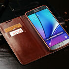 For Samsung Galaxy Phones Luxury Men's Leather Wallet Card Stand Flip Cover Case