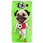 Pug Sport Athlete Rugby Football Tennis Hard Case For Microsoft Lumia 950