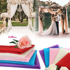 10M/Roll 0.5M Width Sheer Organza Swags Fabric DIY For Wedding Party Venue Decor