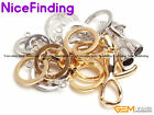 Yellow White 14K Gold Plated Inlayed Clasps Jewelry Making Design Findings 1 Set