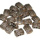 MB350f Antiqued Copper Pewter 12x9mm 3-Hole 2-Sided Spacer Bar Metal Bead 20/pkg