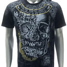 m340b Minute Mirth T-shirt Sz S M L XL Tattoo LTD SPECIAL TECHNIQUE Skull Rose
