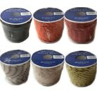 Marine Mini Reels 3mm x 20m Braided Rope 5 Colours Available