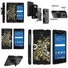 FOR SAMSUNG GALAXY PHONES CASE RUGGED ARMOR HYBRID HOLSTER - Motorcycle