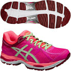 Asics Gel Cumulus 17 Ladies Cushioned Running Sports Shoes Trainers Pink