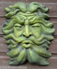 GREEN MAN PLAQUE FOUNTAIN MASK stone garden ornament Aeolus Ruler of Winds 36cmH