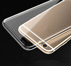 Crystal Clear Transparent Soft Thin Gel Silicone Case Cover For Phone RR