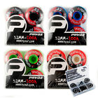 Pro Skateboard Wheels 52mm 100A Pavoz Mask Design With Bearings
