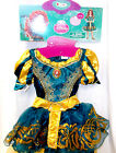 Merida Brave Disney Princess Dress Gloves Headpiece XS S NWT