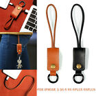 New Leather Keychain USB Sync Charging Cable Lead for Apple iPhone 2 Colors US