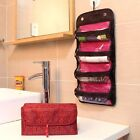 Women Cosmetic Luggage Hanging Makeup Bag Roll Up Organizer Case Pounch Bags