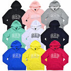 Gap Womens Hoodie Pullover Sweatshirt Applique Arch Logo Xs S M L Xl Xxl New Nwt