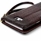 Crocodile PU Leather Wallet Card Stand Cover Case For Samsung Galaxy S7 /S7 edge