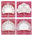 White Paper DOILIES - Range of Patterns & Sizes (Doily/Crochet/Lace/Table/Party)
