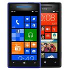 Unlocked HTC 6990 Windows Phone 8X 16GB Blue Black Smartphone